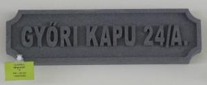 Bensi-Ker Utcatábla 4.