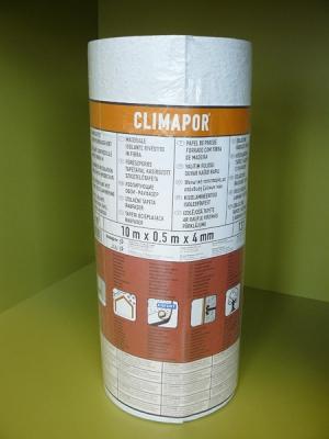 Decosa CLIMAPOR raufaser-kasírozott 131 szigetelő tapéta