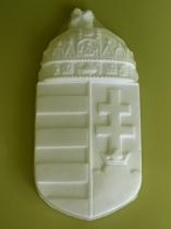 Forcell magyar címer natúr 15x30,5