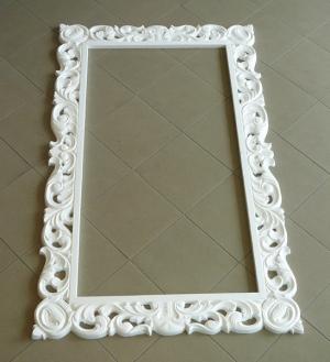 Forcell fehér Tükörkeret