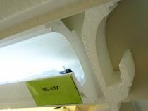 Házékítő HL-107 Díszléc rejtett világításhoz