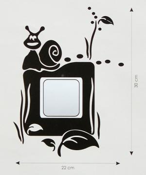 Velvet Concept Csiga villanykapcsoló-dekor