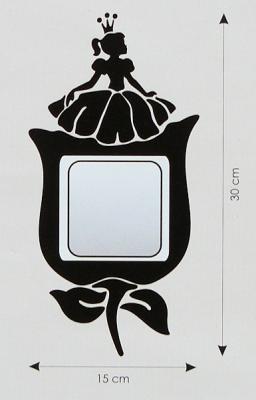Velvet Concept Hercegnő villanykapcsoló-dekor