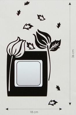 Velvet Concept Mákvirág villanykapcsoló-dekor