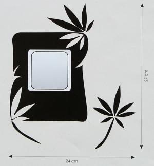 Velvet Concept Pálma Villanykapcsoló-dekor